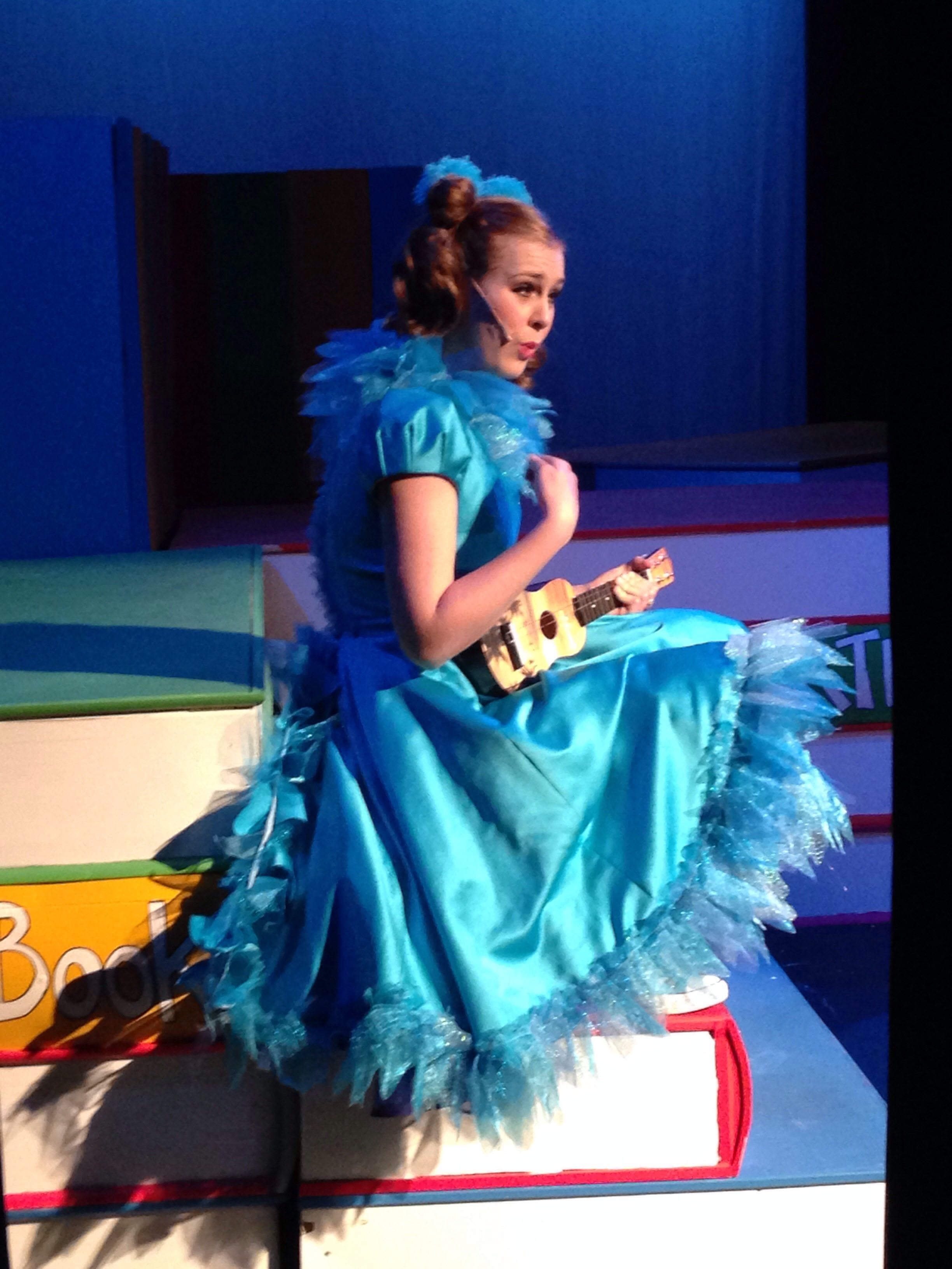 Stand Collar Dress Designs : Gertrude mcfuzz s tail for seussical angela wood designs