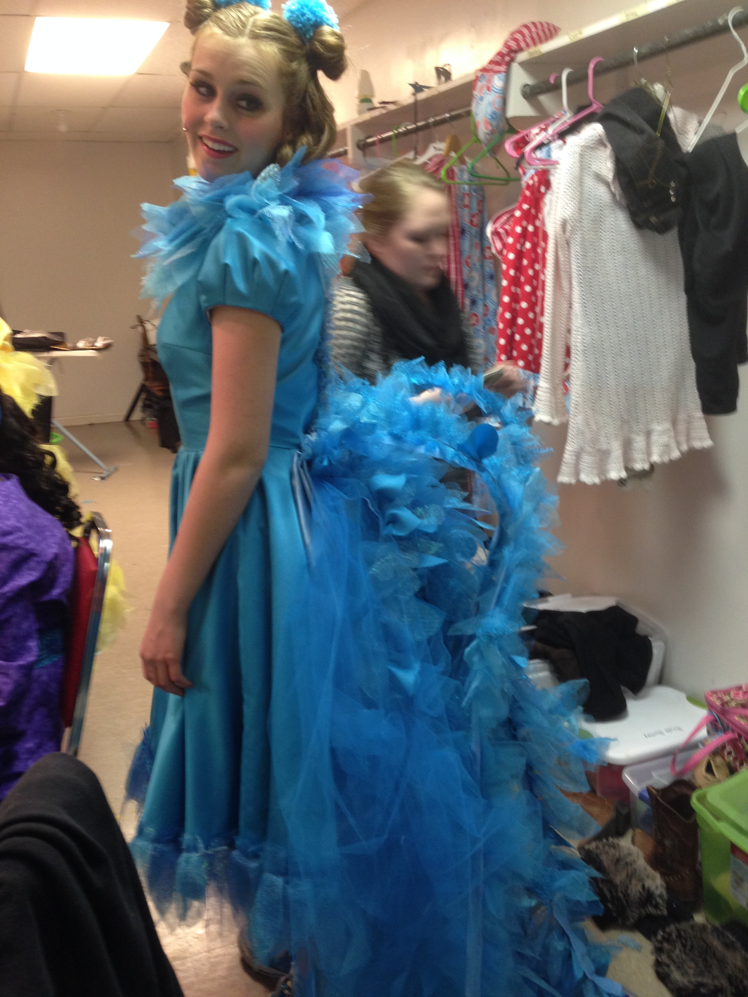 Stand Collar Designs : Gertrude mcfuzz s tail for seussical angela wood designs